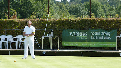 Photo: Paul Crabtree, Marker in the Men's Two wood Competition.
