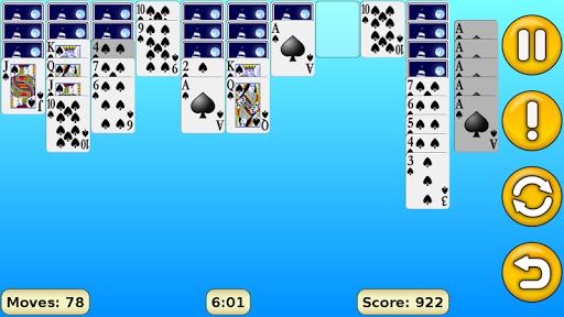 Spider Solitaire 1.17 screenshots 9