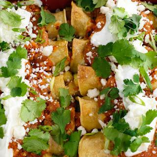 Curtis Stone's Potato and Zucchini Enchiladas with Habanero Salsa