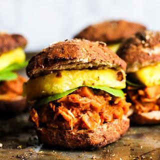 Easy Vegan BBQ Jackfruit Sandwiches.