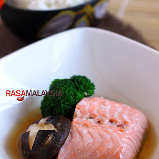 Steamed Norwegian Salmon Recipe