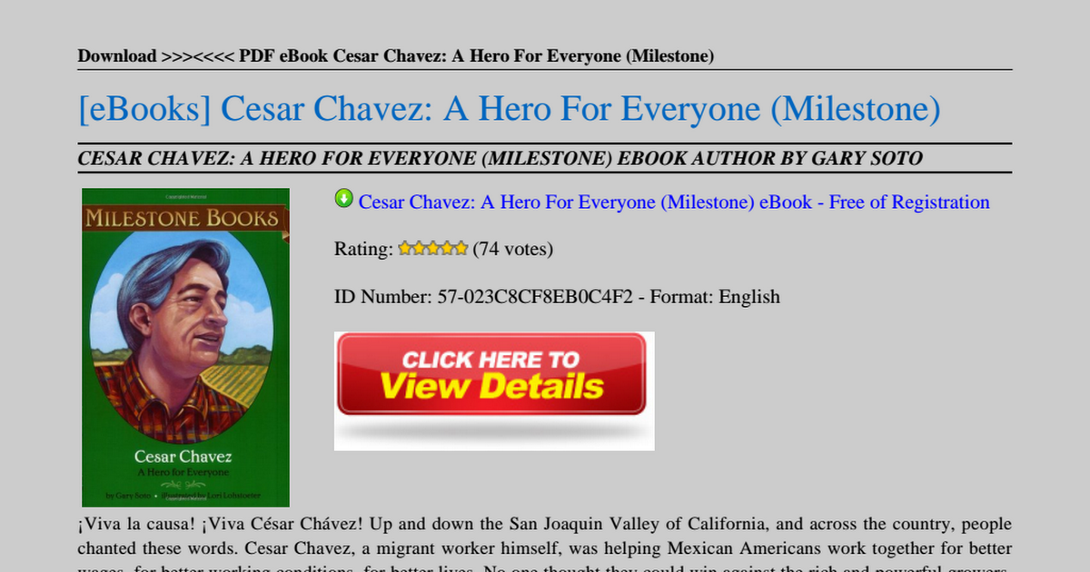 Who was chavez