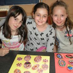 2017-04-05 Velikonoční tvoření ve školní družině