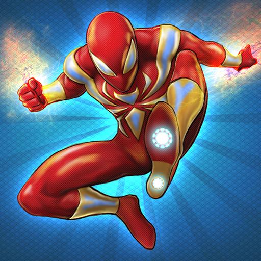 Flying Iron Spider Hero Adventure