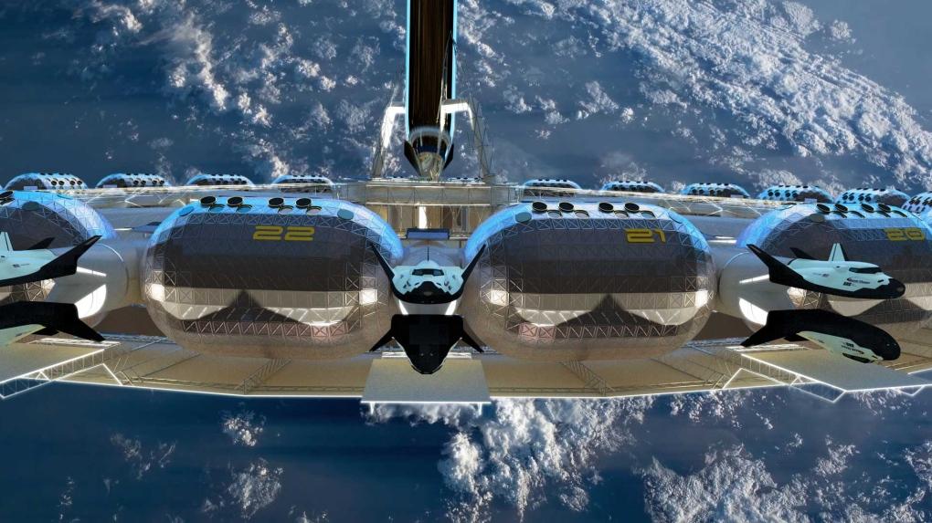 """""""Khách sạn ngoài vũ trụ đầu tiên khởi xây vào năm 2026 - ảnh 3"""