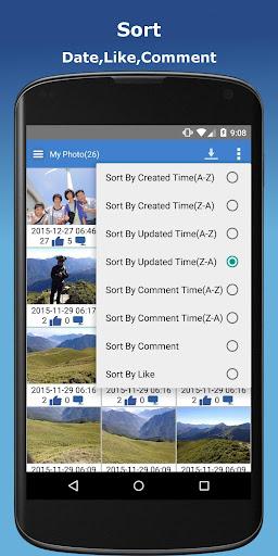 Photo Finder for Facebook - Edit,Download,Upload 2.2.1 screenshots 2