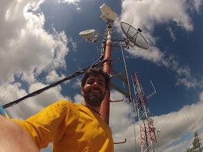 Photo: Creo que ser ingeniero de teleco y corredor de montaña es una mezcla acertada (amar las antenas, amar las cumbres :P)