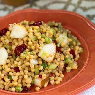Autumn Wheat Berry Salad