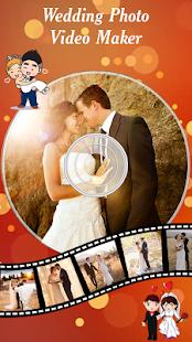 Wedding Photo Video Maker Music - náhled