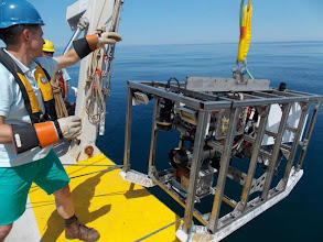 Photo: ISIS2 Towed Camera System (Image courtesy of Gulf of Maine Deep Sea Coral Science Team 2013/NURTEC-UConn/NOAA Fisheries/UMaine)