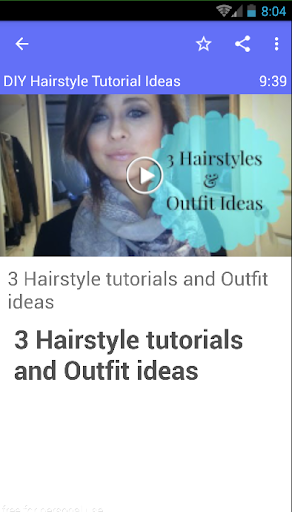 DIY Hairstyle Tutorial Ideas
