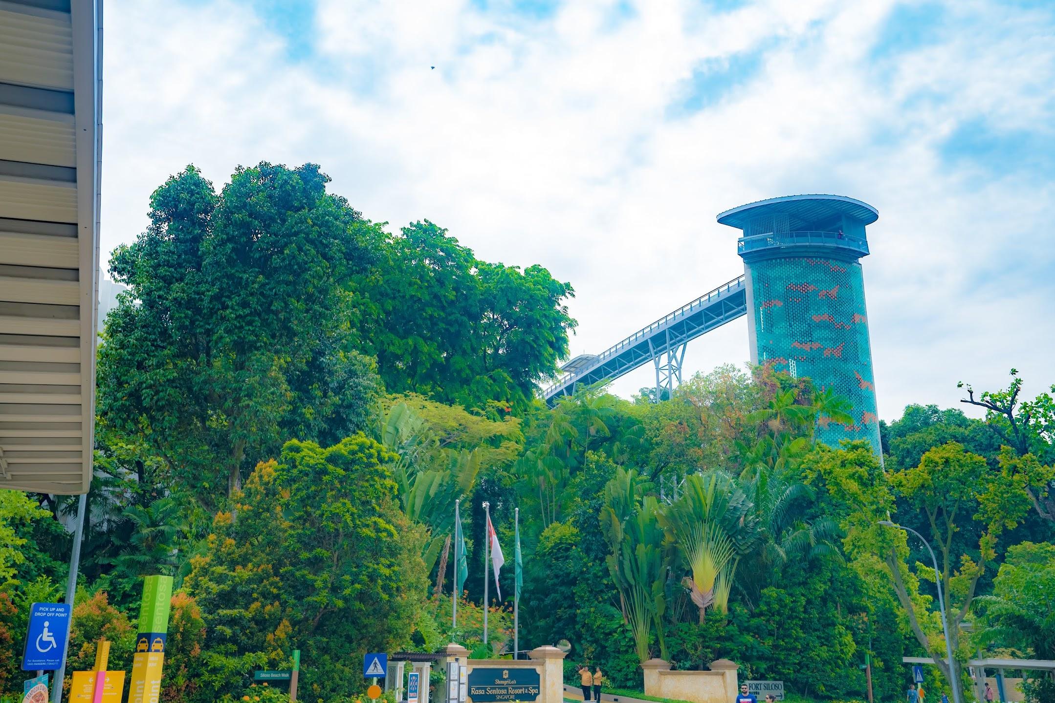 シンガポール セントーサ シロソ砦