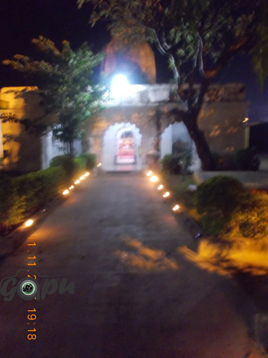 Bajali Mandir, Bhawanipatna on Diwali Evening