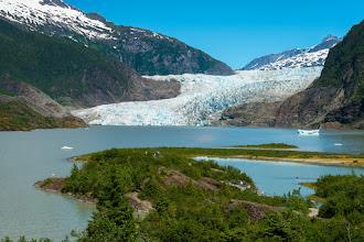 Photo: Mendenhall Glacier