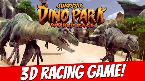Jurassic Dino Park World Race- screenshot thumbnail