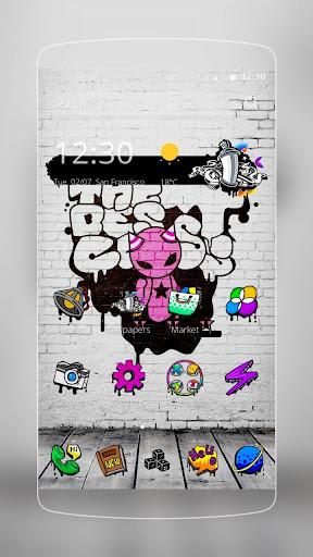 Graffiti Wall Backgrounds 1.1.21 screenshots 1