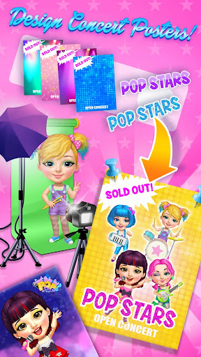 Sweet Baby Girl Pop Stars - Superstar Salon & Show  screenshots 6