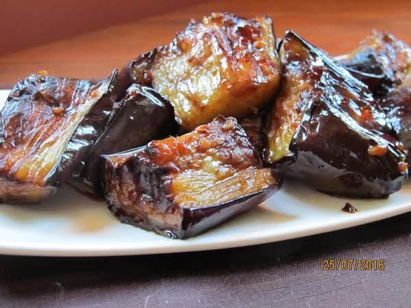 Adobong Talong (eggplant Adobo)