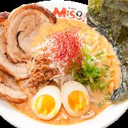 Miso Tan Tan Deluxe Ramen