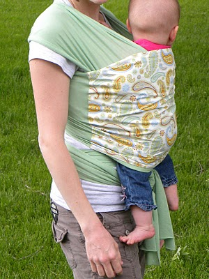 Free Baby Projects Make A Baby Wrap Carrier