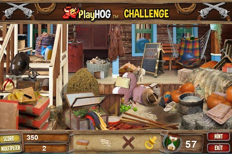 Challenge #220 West End Free Hidden Objects Games - náhled