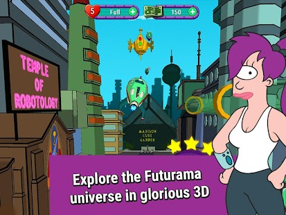 full Futurama: Game of Drones v0.6.0 MOD Apk [Unlimited Money and Lives] – Android Games download