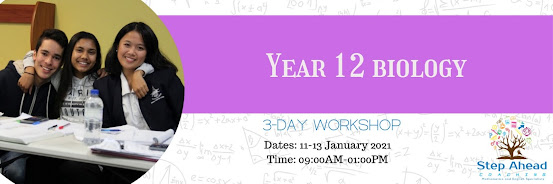 Year 12 Biology Workshop (3-day workshop)