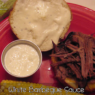 White Barbeque Sauce.