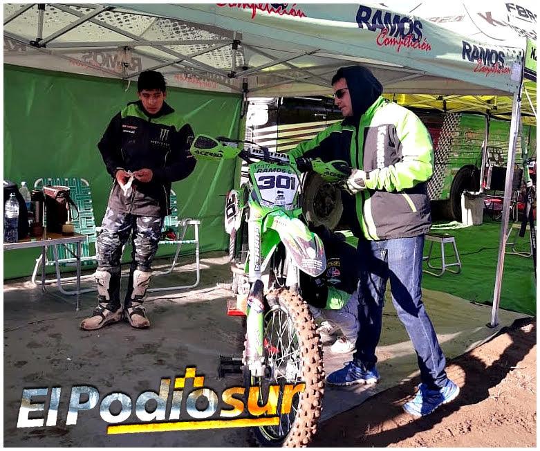 Mati Ramos se subió nuevamente al podio del APE