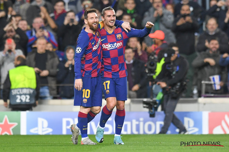 Une opposition Messi-Griezmann ? Le Français donne sa version des faits