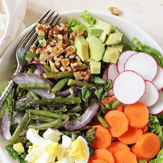 Spring Vegetable Cobb Salad.