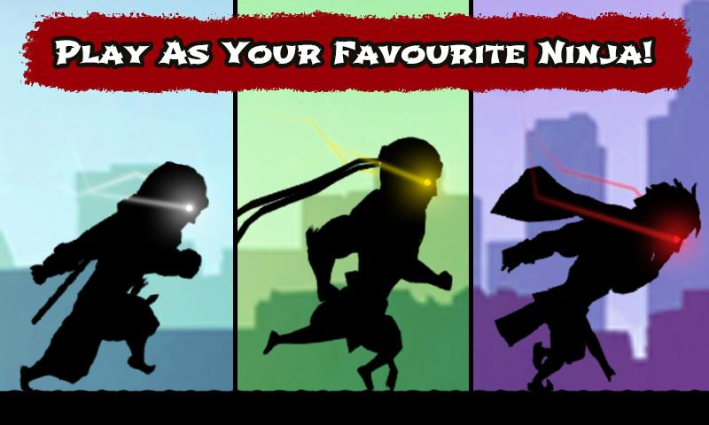 android Shadow Ninja Game Screenshot 1