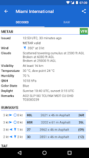 Avia Weather - METAR & TAF - náhled