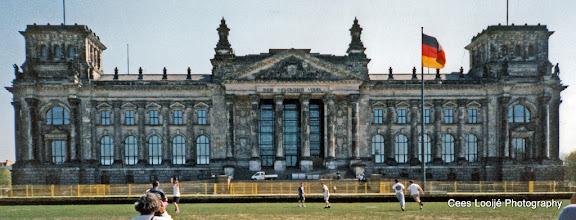 Photo: Berlijn. Rijksdag.