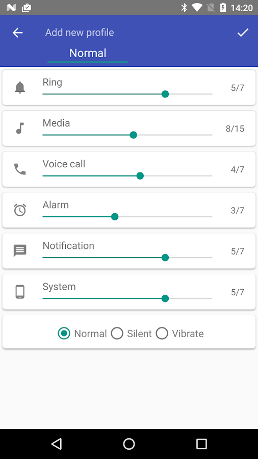 Volume Control- screenshot