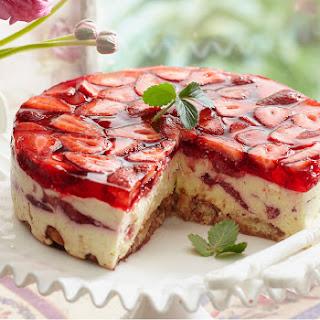 Cointreau Strawberry Cheesecake