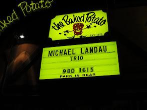 Photo: Michael Landau at The Baked Potato - January 14th 2011