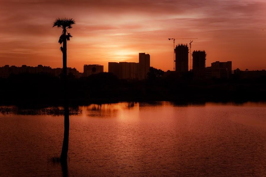 by Murthy Putrevu - Landscapes Sunsets & Sunrises