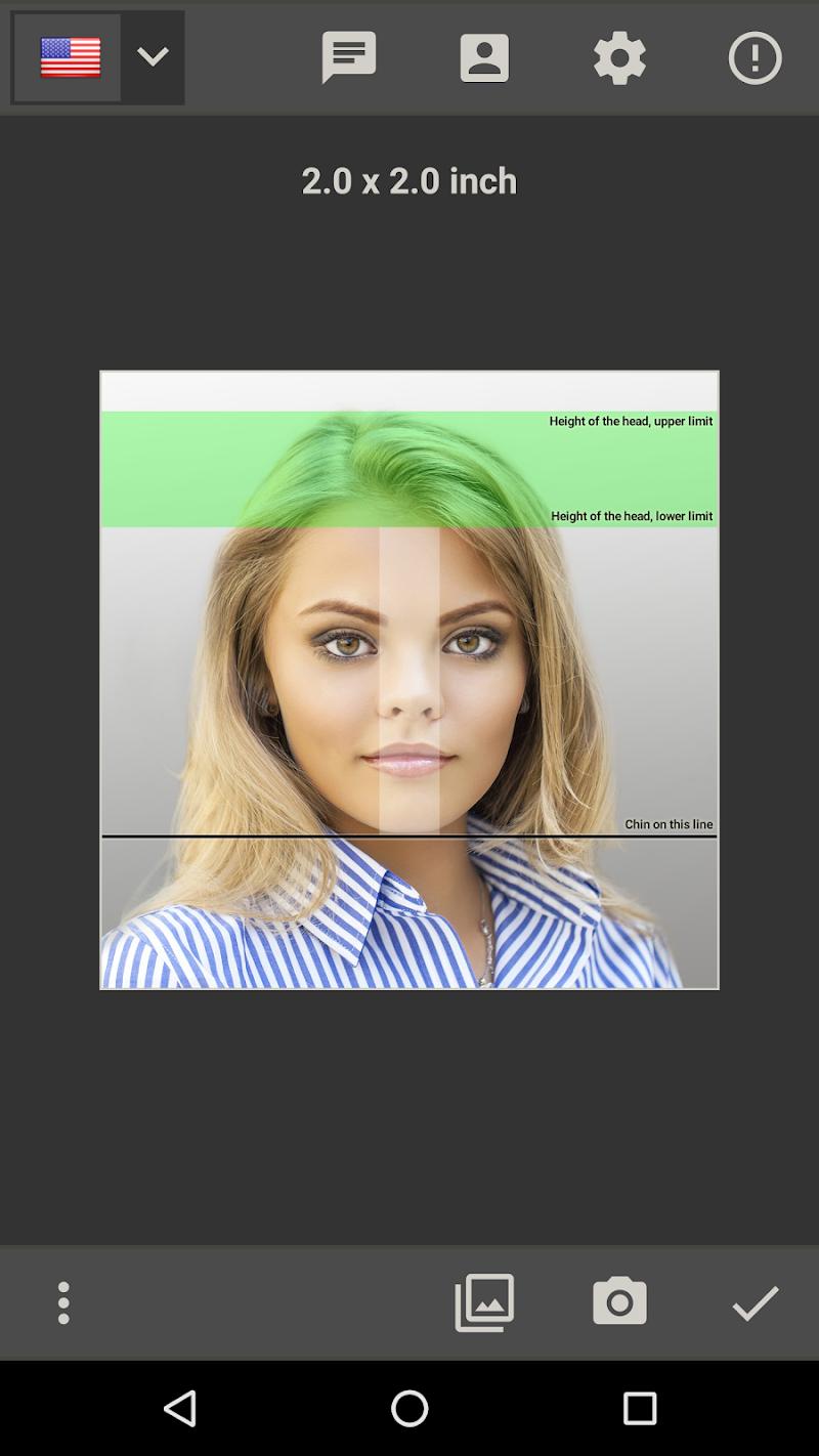 Biometric Passport Photo Screenshot 0