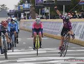 Amerikaanse klopt Nederlandse Vollering in spurt van kopgroep Brabantse Pijl voor vrouwenurt van kopgroep Brabantse Pijl voor vrouwen