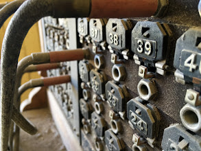 Photo: Telephone switchboard in the Wild West mining town of Bodie, California