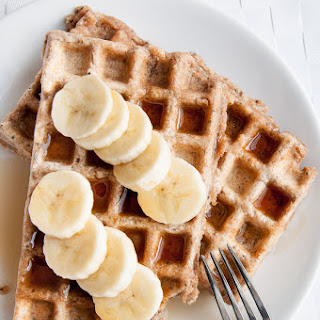 Vegan Whole Wheat Waffles