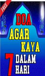 Doa Agar Cepat Kaya Dalam 7 Malam for PC-Windows 7,8,10 and Mac apk screenshot 1