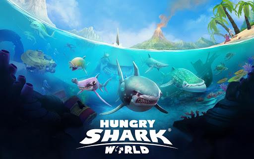Hungry Shark World  captures d'u00e9cran 16