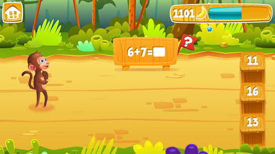 Math Jungle : 1st Grade Math- screenshot thumbnail