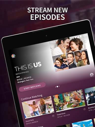 The NBC App - Stream Live TV and Episodes for Free screenshot 6