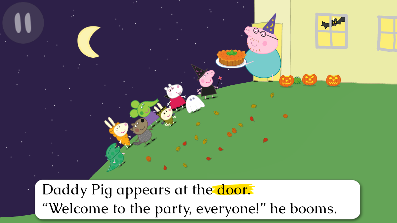 Peppa's Halloween Party (Peppa Pig: 8x8) (Paperback) NEW FREE SHIPPING