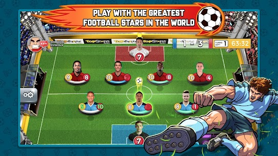 Top Stars Football 1.40.0.0 MOD (Unlimited Money) Apk 1