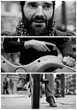 Photo: Triptychs of Strangers #3: The Cyclist Paris