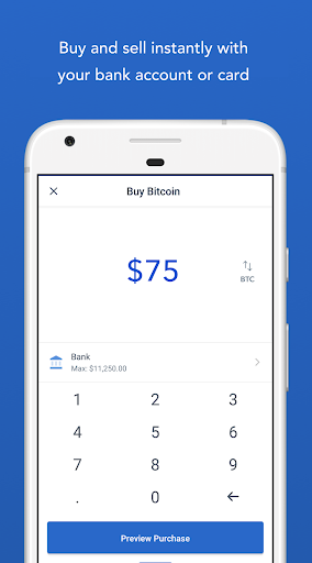 Coinbase u2013 Buy and sell bitcoin. Crypto Wallet for Android apk 2